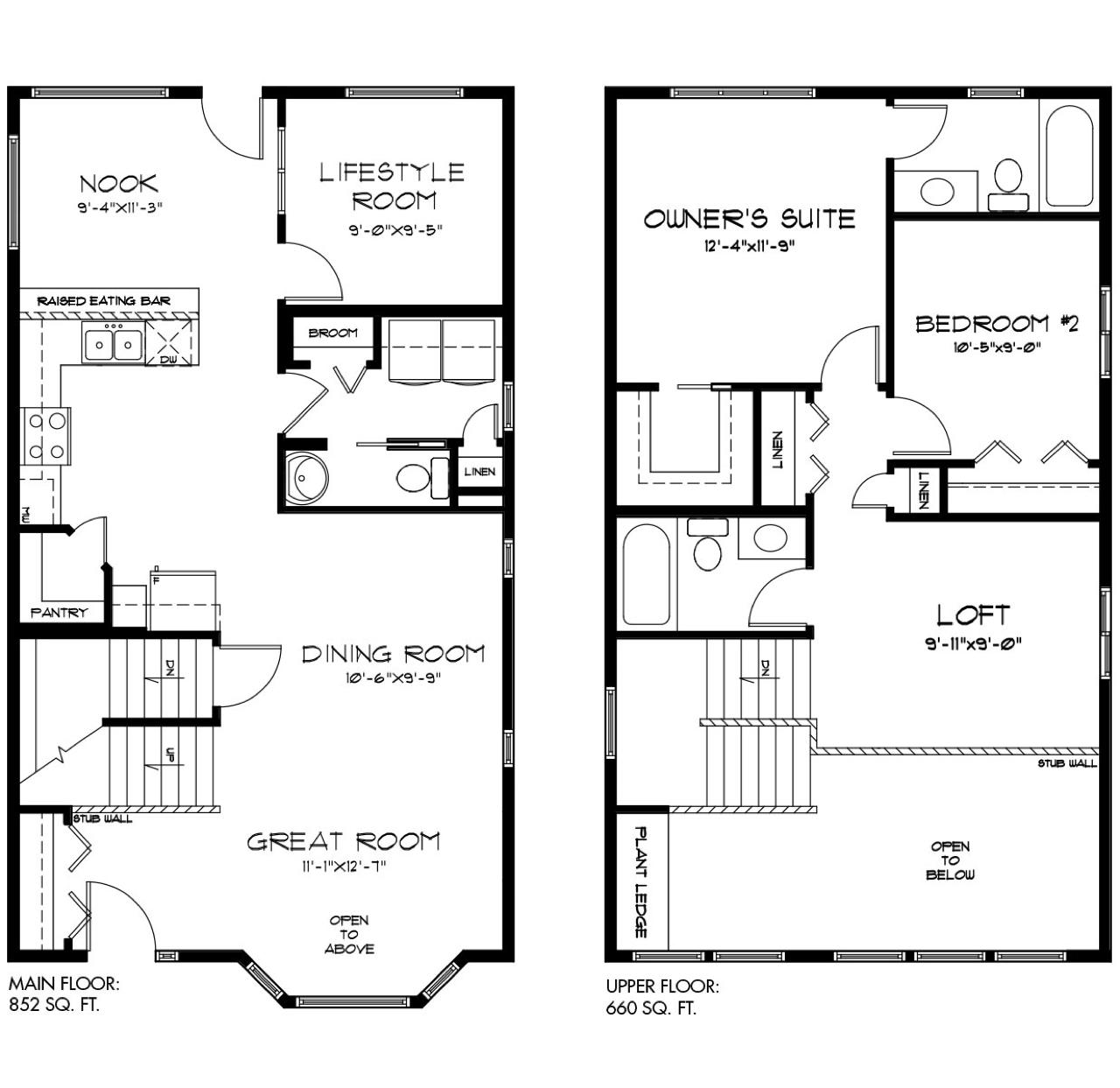 3 Ravishing New Quick Possession Homes Silverado Floorplan image