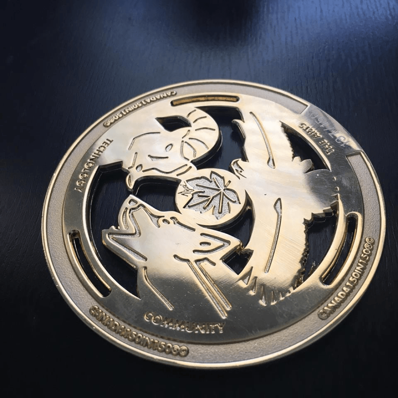 Pacesetter Celebrates Canada's 150th Birthday! Medallion image