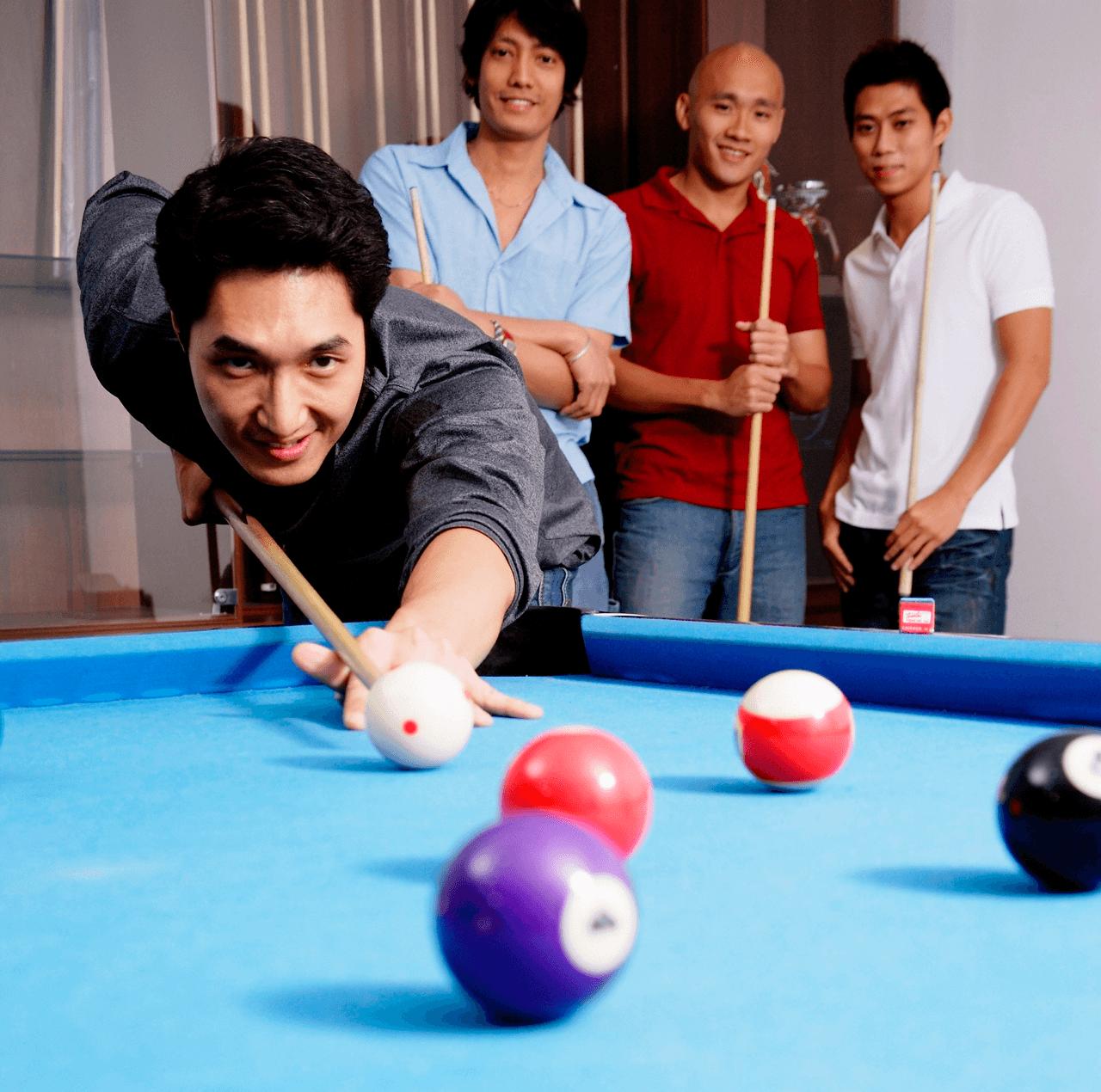 Man Cave vs. Diva Den Playing Pool image